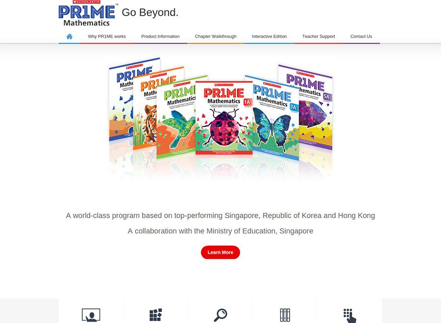 Scholastic Prime Mathematics